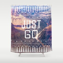 JUST GO Shower Curtain