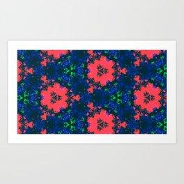 Bonnets & Coral Art Print