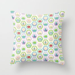 Sewing Quilting Flat Pattern Throw Pillow