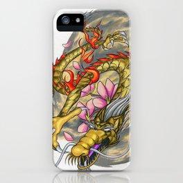 Warp Dragon iPhone Case