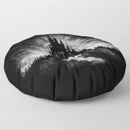 Vampire Castle Floor Pillow