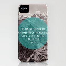 Isaiah 41:13 Slim Case iPhone (4, 4s)