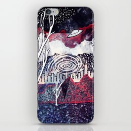 Night Travels revisited iPhone Skin