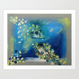 Pond - Original Fine Art Print by Cariña Booyens. Art Print