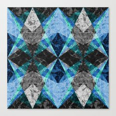 Marble Geometric Background G432 Canvas Print