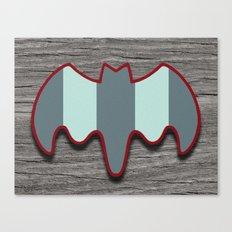 Arctic Bat Canvas Print