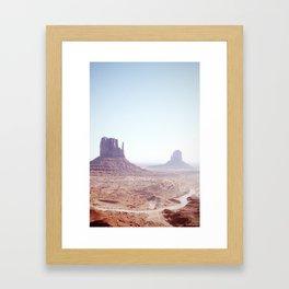 Monument Valley I Framed Art Print