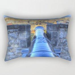 Edinburgh Castle Cannon Rectangular Pillow