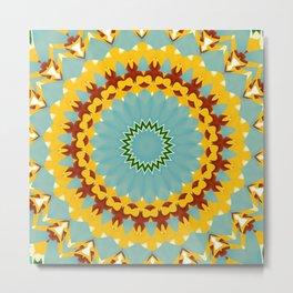 Eyecatching Sunlighter Mandala 3 Metal Print
