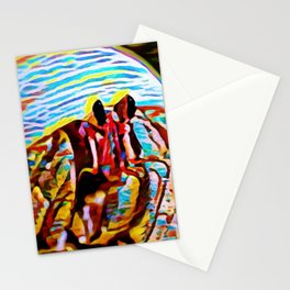 Palawan Hermit Fiesta | Painting Stationery Cards
