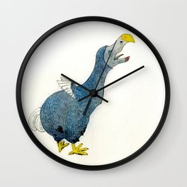 Dodo Scream Wall Clock