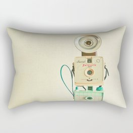 Tower of Cameras Rectangular Pillow