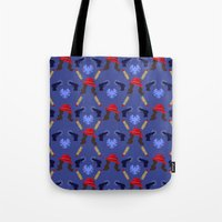 agent carter Tote Bags featuring Agent Peggy Carter: Spying in Style by semisweetshadow