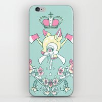 kendrawcandraw iPhone & iPod Skins featuring King Bambi by kendrawcandraw
