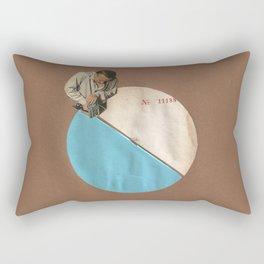 Blue Moon II Rectangular Pillow
