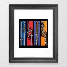 Four Humors Framed Art Print