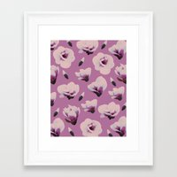 magnolia Framed Art Prints featuring Magnolia by Georgiana Paraschiv