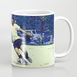 The Challenge - Soccer Players Coffee Mug