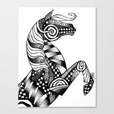 Horse Patterns Canvas Print