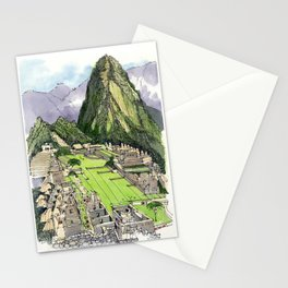 Machu Piccu, Peru Stationery Cards