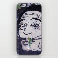 salvador dali iPhone & iPod Skins featuring Salvador Dali by Victoria Herrera