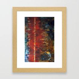 Seams Framed Art Print