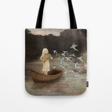 Solo at Dawn Tote Bag