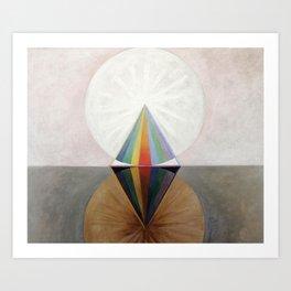 Hilma af Klint - Group IX/SUW No. 12, The Swan No. 12 Art Print