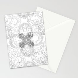 The Ocean's, Black and White Stationery Cards