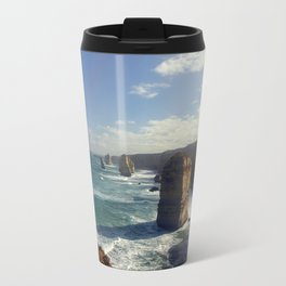 Rock Stacks & Gigantic Mainland Cliffs Travel Mug