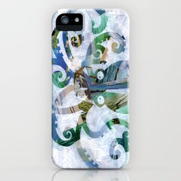 For the love of Octopus iPhone Case
