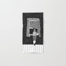 Salvador Dalí - Girl in the window Hand & Bath Towel