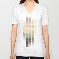 imagine V-neck T-shirts featuring Imagine by Eva Nev