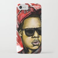 jay z iPhone & iPod Cases featuring Jay Z by C.Love Designs