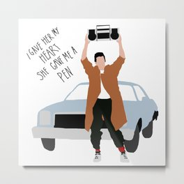 Say Anything Metal Print