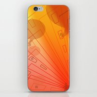 gossip girl iPhone & iPod Skins featuring gossip by sladja
