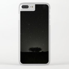 African Night Clear iPhone Case
