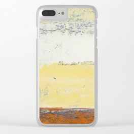 Simon Carter Painting Final Handshake Clear iPhone Case