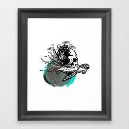 Sea Rules Framed Art Print
