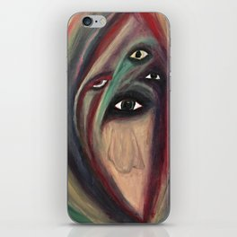 The Seer. iPhone Skin