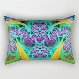 Cool colourdul curly pattern Rectangular Pillow