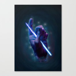 The magic of art Canvas Print