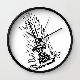 Magic Powers Wall Clock
