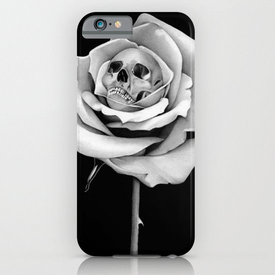 Beauty & Death iPhone & iPod Case