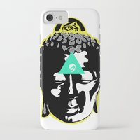 buddah iPhone & iPod Cases featuring Buddah by New Ill
