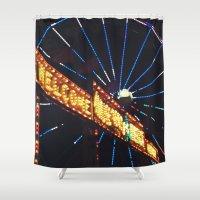 carnival Shower Curtains featuring Carnival by Ricki Lynn