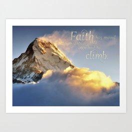 Faith Poster Art Print