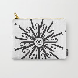 "Flower - The Didot ""j"" Project Carry-All Pouch"