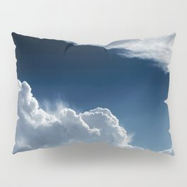 Sky, clouds and lights. Pillow Sham