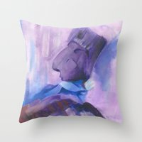 le petit prince Throw Pillows featuring Le Petit Prince by EarthShine
